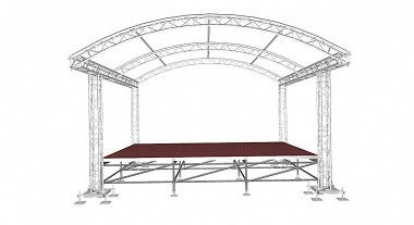 MDMT Arc Roof 6x4