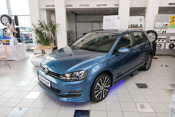 Презентация нового Volkswagen Golf