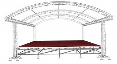 MDMT Arc Roof 8x6